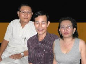 Left to right: Phan Thanh Hai, Dieu Cay, Ta Phong Tan