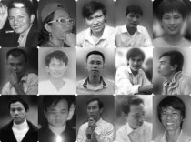 The 15 Catholic and Redemptorist activists who were arrested in 2011