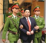 Dr. Cu Huy Ha Vu at his trial in 2011 (source: Internet)