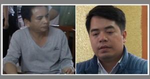 Bùi Hiếu Võ (left) and Phan Kim Khánh (right). Source: baogiaothong.vn