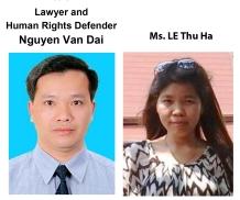 Nguyễn Văn Đài and Lê Thu Hà