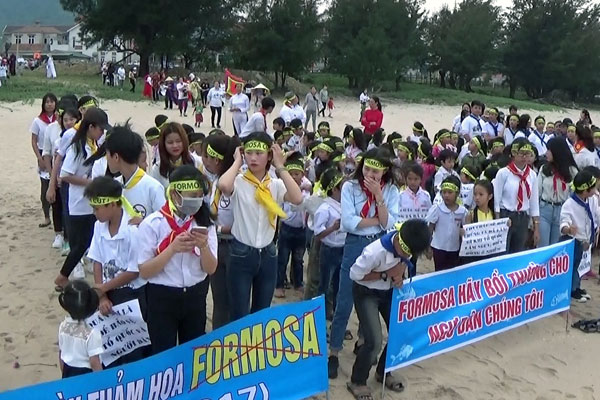 protest Formosa April 6 2017