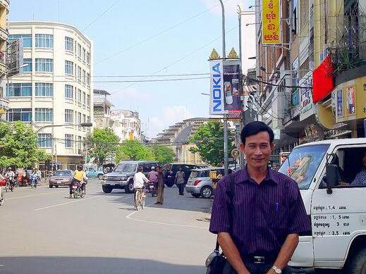 Dieu Cay in Cambodia
