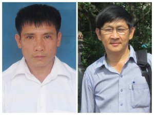 Nguyen Trung Ton and Truong Minh Duc