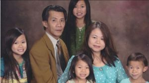 Michael Phuong Minh Nguyen and family