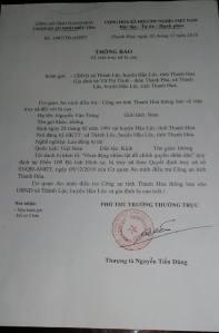 Nguyen Van Tran Wanted Notice Source Trang Nguyen