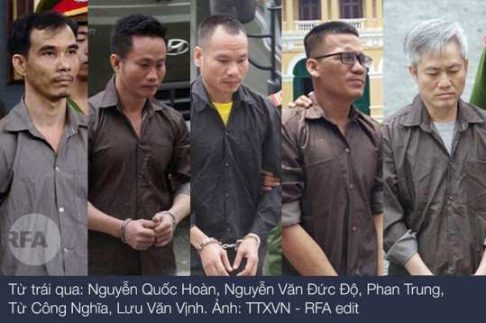 luu van vinh and codefendants original appeal trial